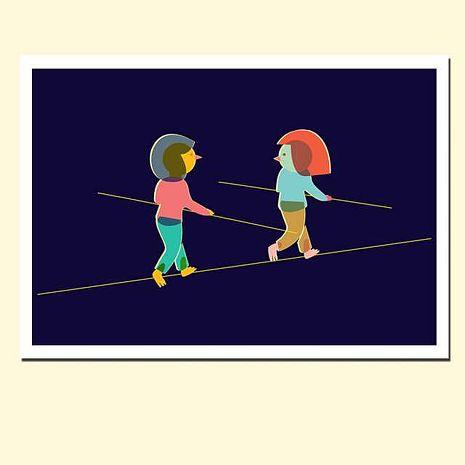 ◆ 西班牙插畫家 創意家飾 ◆ 掛畫 海報畫 裝飾畫 插畫 藝術畫 ◆ 簡單裝飾 增添空間時尚設計感