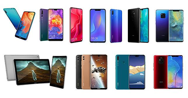 Thailand Mobile Expo 2019 Smartphone List Huawei