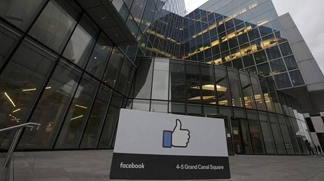 Ilustrasi kantor Facebook. [Shutterstock]