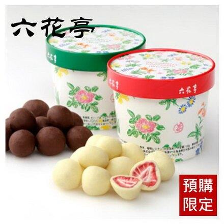 預購【六花亭】北海道草莓巧克力(牛奶巧克力/白巧克力) 100g 約等待8-15天出貨 冷藏配送。人氣店家挑食屋PIKIYA的【地域限定 | 伴手禮 | 禮盒】有最棒的商品。快到日本NO.1的Raku