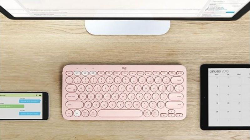 跨裝置新幫手!神好用一對三攜帶鍵盤,粉嫩羅技K380超誘人