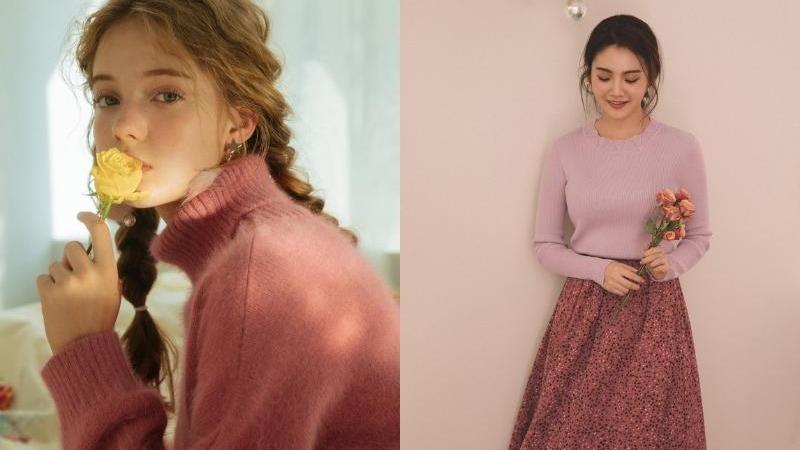 少女心噴發!用讓人戀愛的『玫瑰色單品』打造新春自然好氣色!