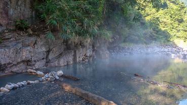 【宜蘭|大同】走路只要20分鐘。最親民chill的野溪溫泉!梵梵(芃芃)野溪溫泉