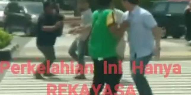 Polisi Tangkap Dosen dan Mahasiswi Pembuat Video Rekayasa Perkelahian di Thamrin