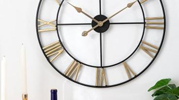 配合房間的風格來選擇吧!時尚「壁掛時鐘」推薦特輯