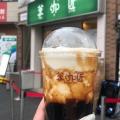 黒糖ラテチーズクリームM - 実際訪問したユーザーが直接撮影して投稿した北新宿タピオカ茶咖匠 大久保店の写真のメニュー情報