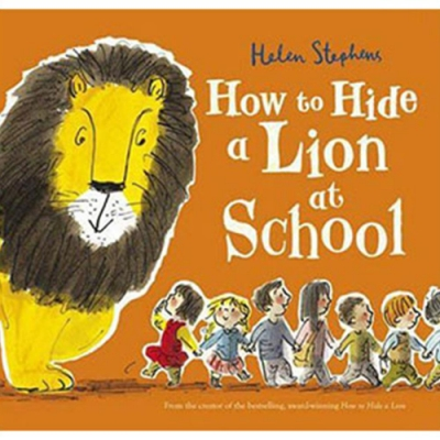 How To Hide A Lion At School 校園藏獅大作戰平裝繪本