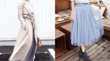 春季必備!甜美女孩的浪漫「紗裙」穿搭!