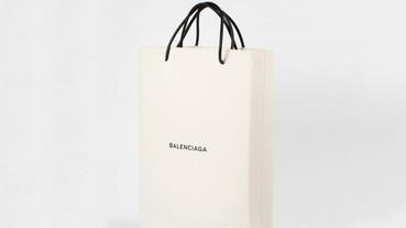 Balenciaga 推出一個天價 $1100 美金的「購物袋」
