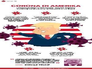 Corona, Jumlah Kematian di Amerika di Atas 4.000