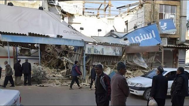 ยอดผู้เสียชีวิตจากแผ่นดินไหวในอิหร่าน 6 ศพ บาดเจ็บมากกว่า 300 คน
