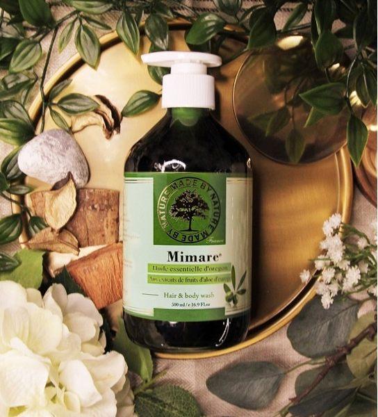 【 Valvola法莫拉 】法國Mimare-橄欖精油清潔凝露(三合一清潔露)500ml