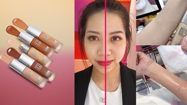 Dcard網友激推粉底是它?3INA全新超強粉底,妝效一抹像修片痘疤、毛孔瞬間隱形!