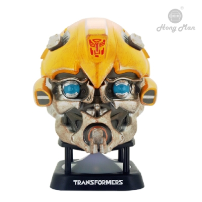 Transformers 高度復刻電影角色 可連接 3.5 mm 音源使用 開機指示LED燈