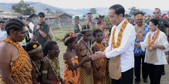Jokowi di Papua. ©2019 BPMI Setpres