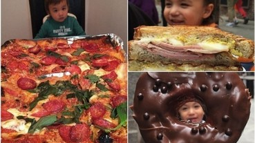2 歲就開始吃遍餐廳 instagram 最年輕的當紅美食家!