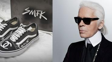 這次不是山寨版了~VANSxKarl Lagerfeld手把手賣潮鞋