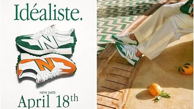 # 法式貴族運動風:CasablancaⒸ 聯名 New Balance 推出復古 327 球鞋