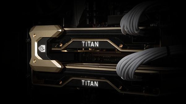Titan RTX 支援 NVLink 串聯 2 張卡進行運算,頻寬達 100GB/s