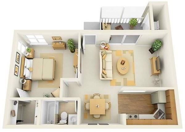 Inspirasi Desain Rumah Minimalis Untuk Pengantin Baru