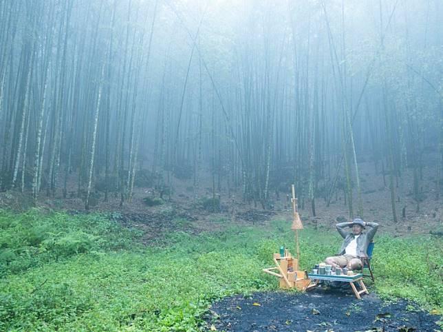 家宏正打算在竹山預備環保露營區,推廣環保及竹藝,讓更多人可以體驗這片大自然給我們的天然空氣清淨機體驗。