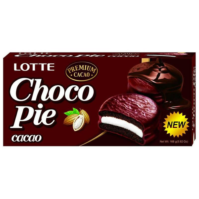 精選韓國樂天銷售第一名的ghana巧克力,提供滑順濃郁的巧克力風味. 烘培過程全程採用溫度控制(Tempering),使迦納巧克力派口感更溼潤綿密(Softness). 柔軟海綿蛋糕的之間夾有鬆軟Q彈