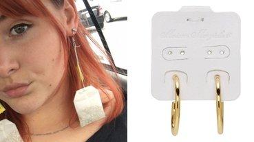 這 3 款看似普通的耳環,都在網路上引發熱議!妳看出「怪在哪」了嗎?