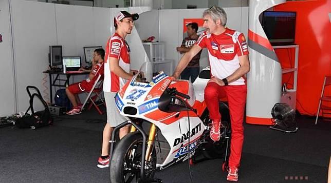 MotoGP Argentina: Lorenzo Ngamuk Gara-gara Ducati Salah Kasih Ban
