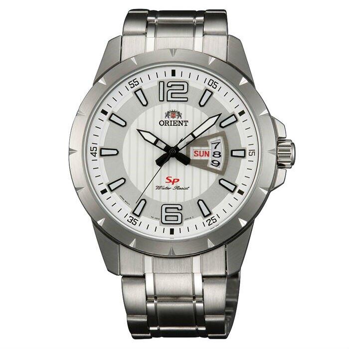 Orient 東方錶(FUG1X005W)運動風石英腕錶/白面43mm。人氣店家大高雄鐘錶城的Orient 東方錶、Orient 男錶有最棒的商品。快到日本NO.1的Rakuten樂天市場的安全環境中