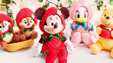 超粉嫩的草莓季來啦!日本迪士尼草莓系列周邊商品開賣