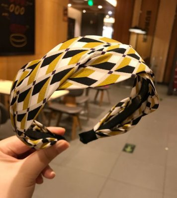 現貨 韓國熱銷 時尚幾何拚色寬版髮箍 MB21019 髮帶 髮束 髮圈 髮箍 髮夾 Mani store韓系飾品 耳環