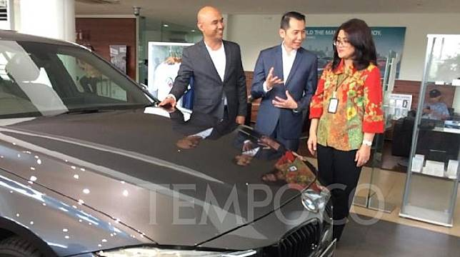 BMW Astra bekerja sama dengan PT BRI Multifinance (BRI Finance) menghadirkan program buy back guarantee. 19 September 2019. TEMPO/Khairul Imam Ghozali