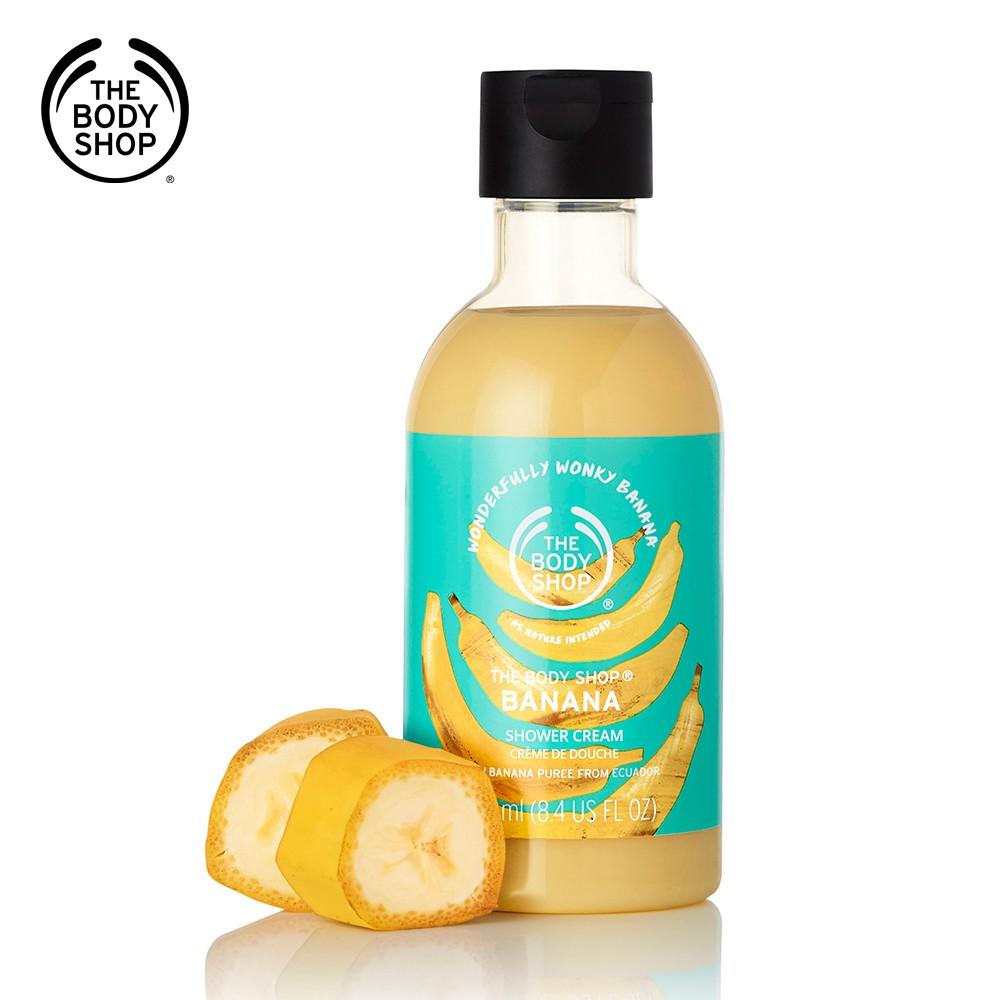 【THE BODY SHOP】香蕉滋養沐浴乳(250ML)