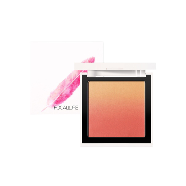 FOCALLURE フーカルーア Silky powder ombre blush シルキーパウダー チーク FA78