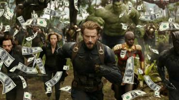 史上最快!《復仇者聯盟 3》全球票房破 10 億美元大關了