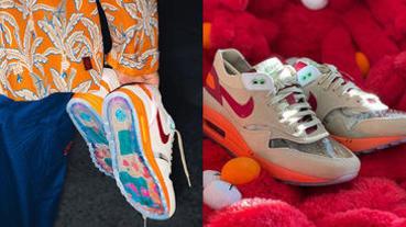 陳冠希神鞋CLOT x Nike Air Max 1「死亡之吻」復刻發售,老鞋迷一等就是15年!