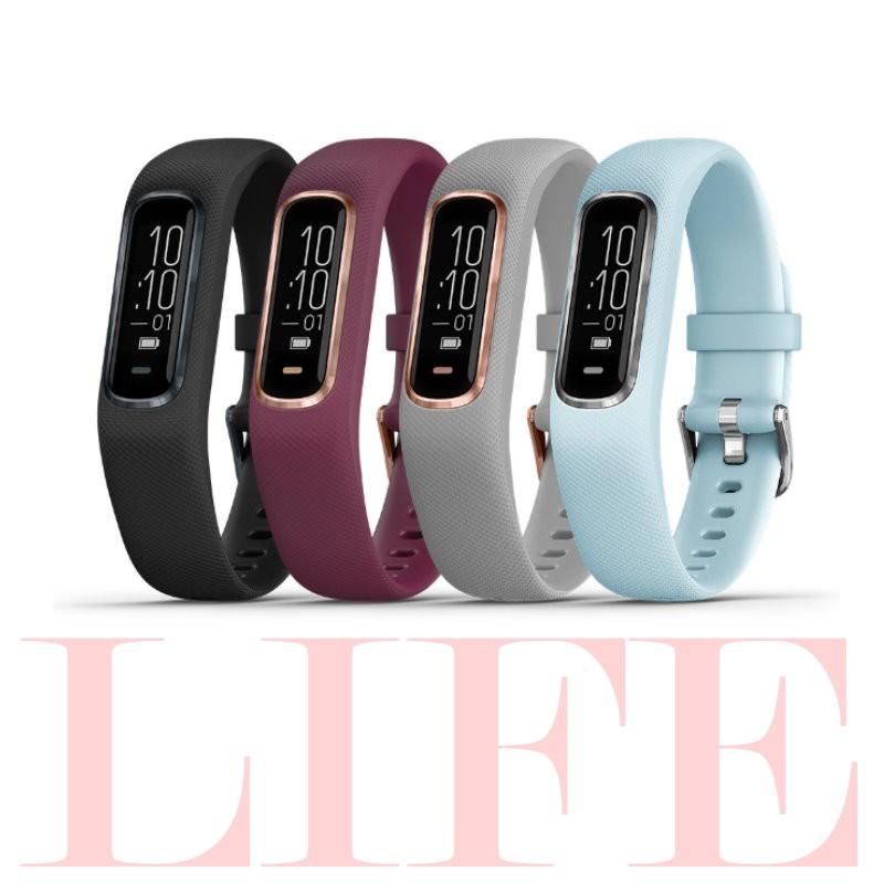 GARMIN vivosmart 4 健康心率手環 防潑水 睡眠監測 計步 健康保健【生活資訊百貨】