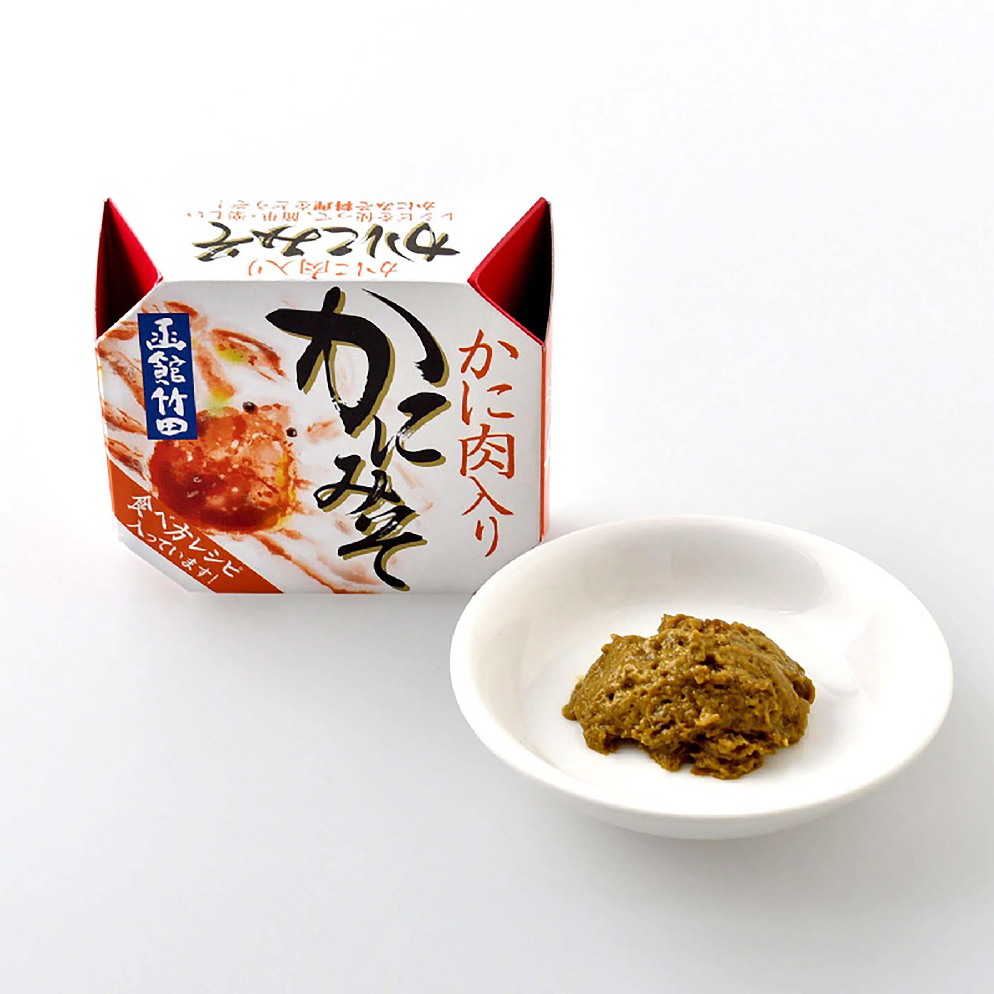 【⽇本進口】日本函館 海鮮膏 3盒特價 蝦膏 蟹膏 蝦膏 蟹膏罐頭含蟹肉 即食罐頭配飯 露營 登山 調味包 70g YHS