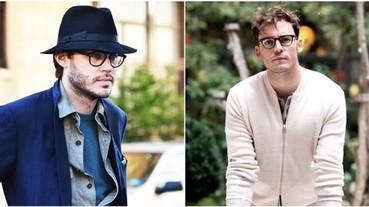 3種髮型+2種帽款,搭配眼鏡最時尚!