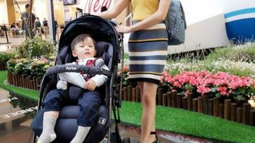 【嬰幼兒推車】時尚美學 Aprica Optia Cushion Premium雙向豪華型推車
