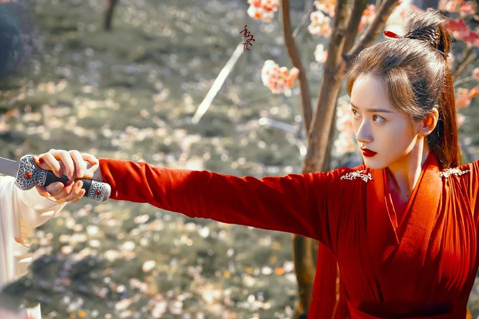 近期古裝劇「紅衣美人」4:袁冰妍 飾演《琉璃》褚璇璣