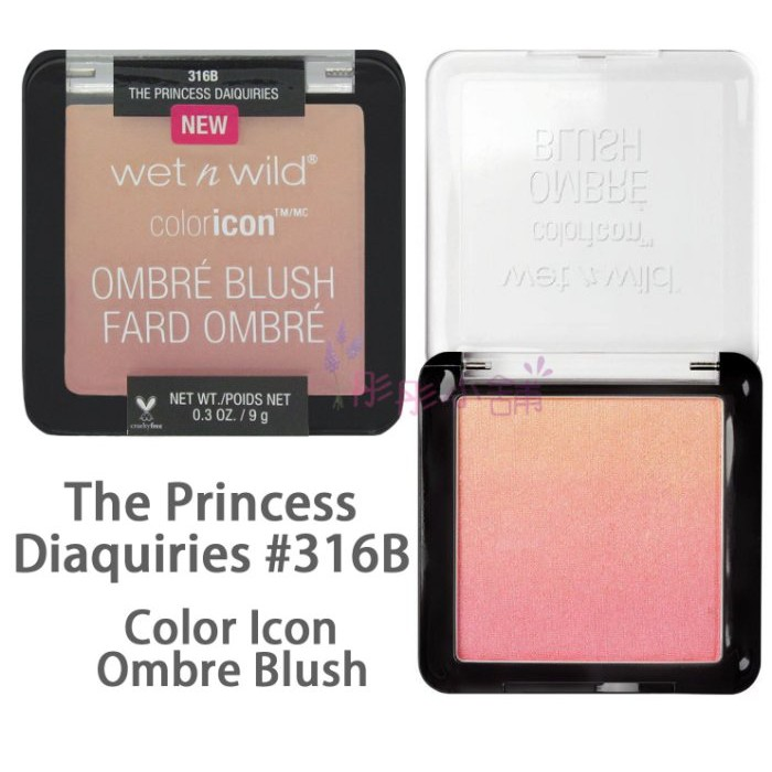 Wet n Wild Color Icon Ombré Blush 漸層腮紅9g 型號316B 317B【彤彤小舖】