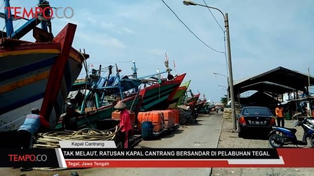 30 Kapal Cantrang Melaut di Laut Natuna, Dilindungi Petugas Hukum