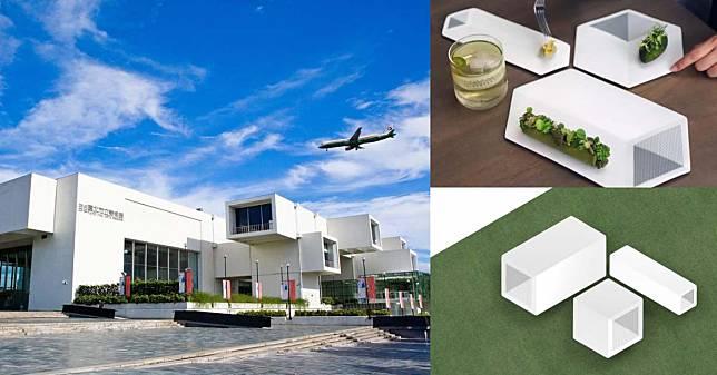 把藝術館買回家!「北美館」化身純白餐盤,餐桌放的不是食物而是藝術!