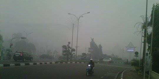 Kabut Asap Riau. ©2014 Merdeka.com