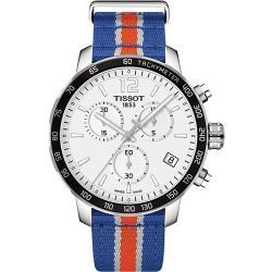 ◎原廠公司貨 型號:T0954171703706|◎球隊專屬顏色與隊徽後蓋|◎具備計時功能/日期顯示品牌:TISSOT天梭型號:T0954171703706使用族群:男錶手錶特性:三針錶帶材質:帆布錶