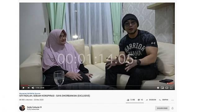 Siti Fadilah Dikunci saat Didatangi Deddy Corbuzier, Perawat Dilarang Masuk
