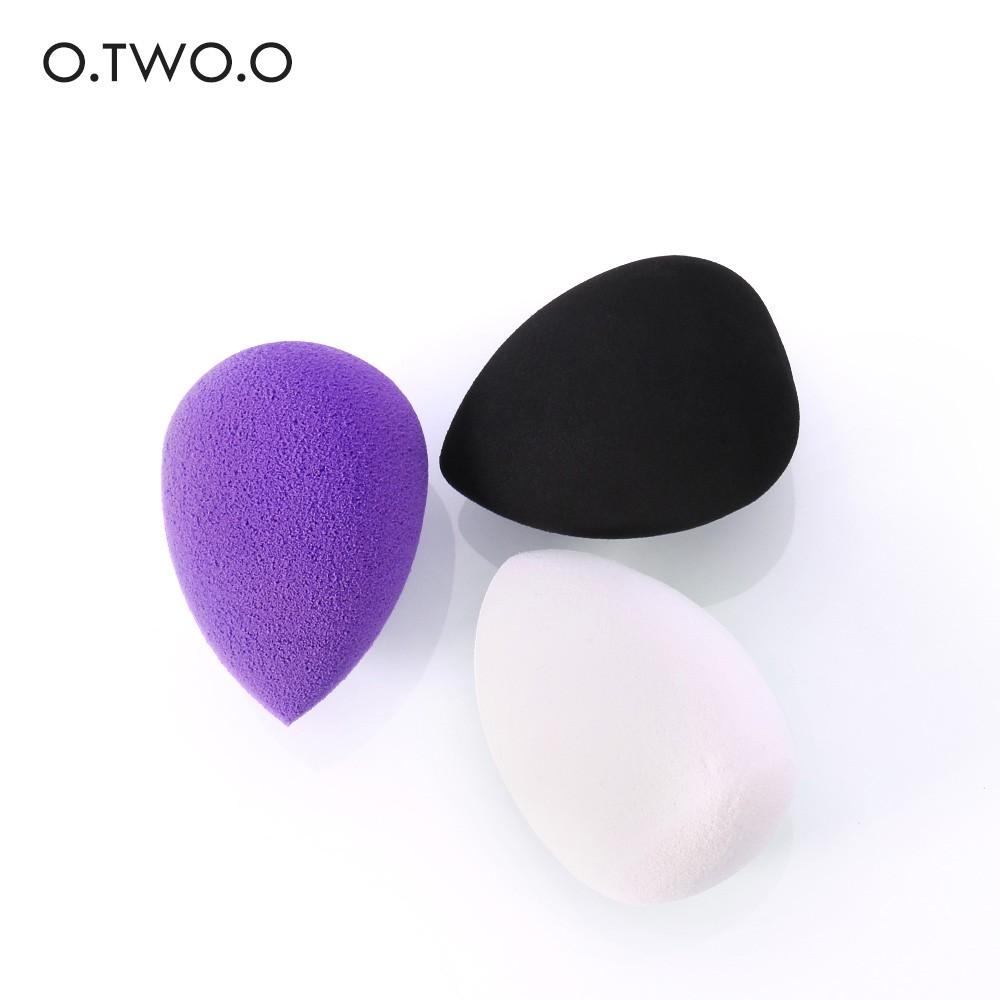O.TWO.O 美妝蛋 化妝海綿 粉撲 水滴型 快速定妝 乾濕兩用 清透服貼妝感
