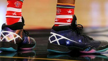 選手實著 / Russell Westbrook 著用 Air Jordan XXX 'Cosmos'