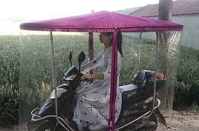 jas hujan motor